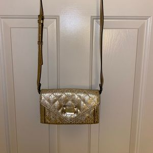 Vintage Gold Guess Bag